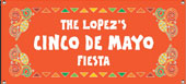 Cinco de Mayo party banners