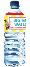 circus water label
