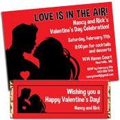 personalized valentine's day invitation