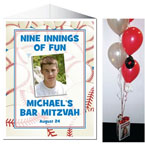 Bar Mitzvah and Bat Mitzvah centerpieces