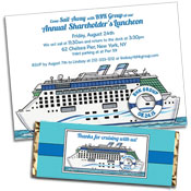 Cruise Theme Invitations and Party Supplies