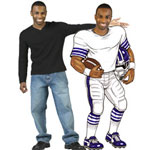 Personalized lifesize cutouts