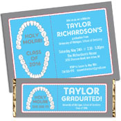 Dental School Graduation Party Invitations and Favors