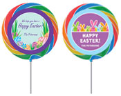 Easter party lollipops