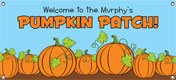 Personalized Fall theme banners