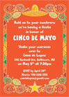 Fiesta and Mardi Gras party invitations