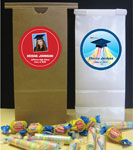 Personalized graduation party favor bags