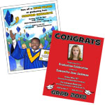 2019 graduation invitations. custom graduation invites