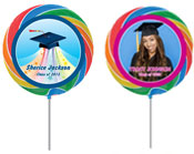 Graduation personalized lollipops