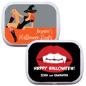 Halloween mint and candy tins
