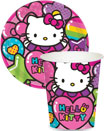 Hello Kitty party invitations, decorations and favors
