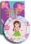 Kids luau invitations and decorations