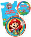 super mario theme birthday invitations and favors