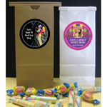 Mardi Gras personalized favor bags