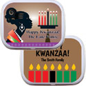 Kwanzaa party theme mint tins