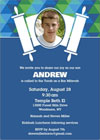 Bar Mitzvah Invitations, Bat Mitzvah Invitations