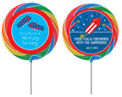 Patriotic Holiday lollipops