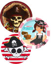 See all pirate theme paper goods and party supplies