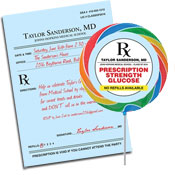 Medical School Graduation Prescription Theme Invitations and Favors