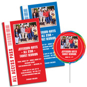 Family Reunion Photo Invitations and Favors