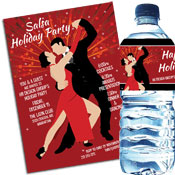 Salsa Dance Party Invitations and Favors