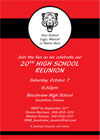 School reunions and school event invitations