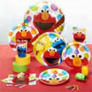 sesame street party supplies. decorations for an elmo theme birthday party