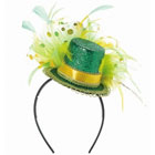 St. Patrick's Day Feather Headband