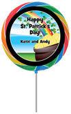 St Patrick's Day Lollipop Party Favor