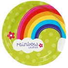 Rainbow Wishes Plates