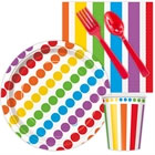 Rainbow Party Snack Party Pack