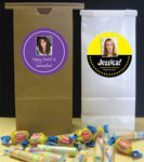 Personalized sweet 16 party favor bags