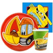 Construction Pals Paper Goods