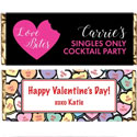 Custom Valentine's Day Theme Candy bars