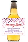 Valentine's Day Beer Bottle Labels
