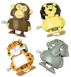 Safari Animal Wind Up Toys