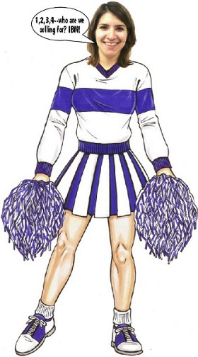 custom cheerleader lifesize cutout