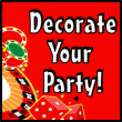 Casino Decorations and Party Supplies
