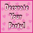 Valentine's Day Decorations and Party Supplies