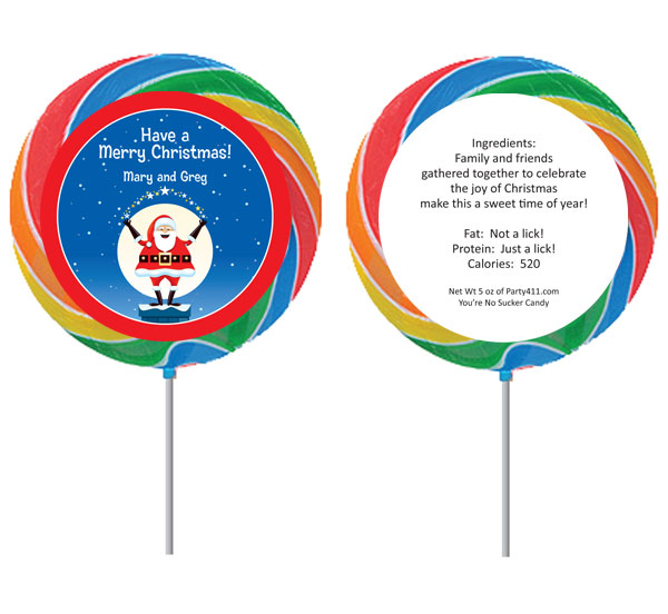 Christmas Santa Magic Lollipop