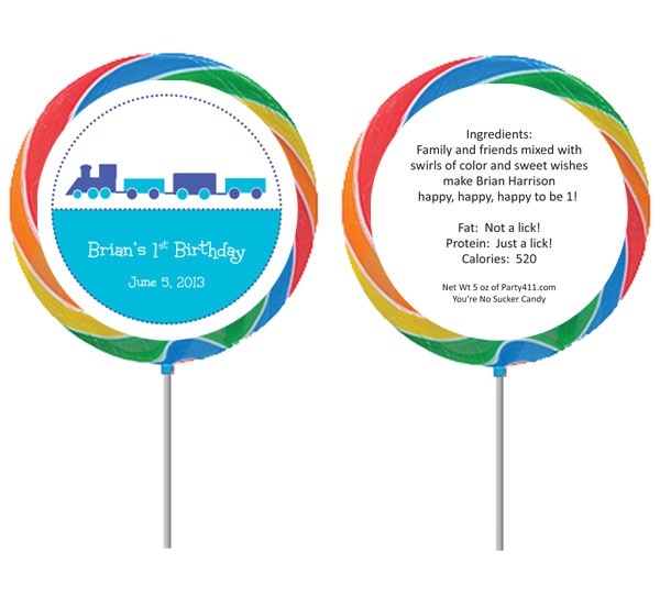 Custom Lollipop, Train Theme