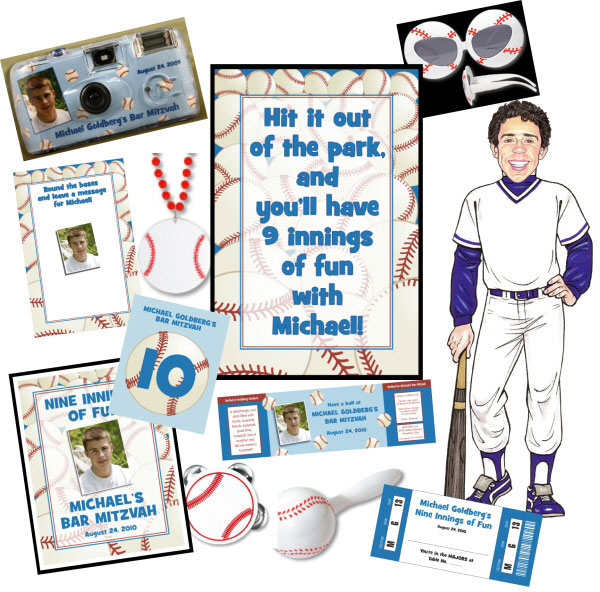 Baseball All Star Theme Package