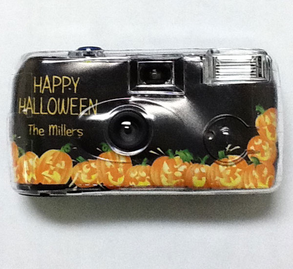 Halloween Fun Pumpkins Theme Camera