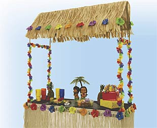 Tiki Hut Topper