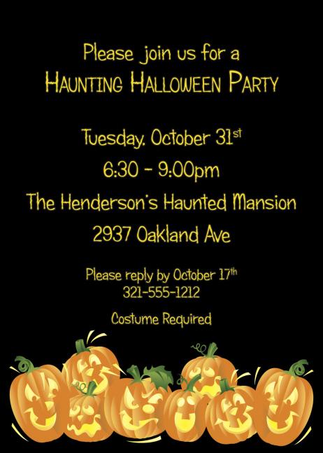 elegant halloween wedding invitations