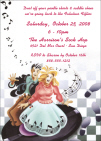Personalized Rock n Roll Party Invitation