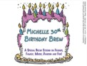 Custom Birthday Beer Bottle Label