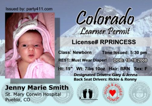 colorado driving permit over 18