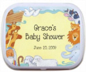 Personalized Baby Shower Mint Tins and Candy Tins, Baby Shower Candy, Mints, Baby Shower Favors