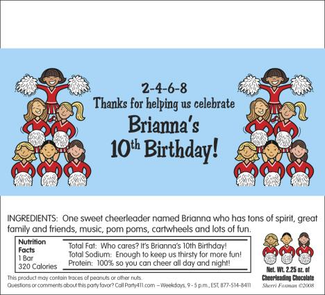 Cheerleading Birthday Party Invitations Personalized Cheerleading – Cheerleading Birthday Party Invitations
